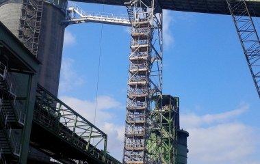marine scaffolding immingham renewable fuels terminal