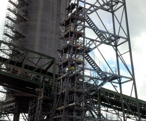 marine scaffolding immingham renewable fuels terminal